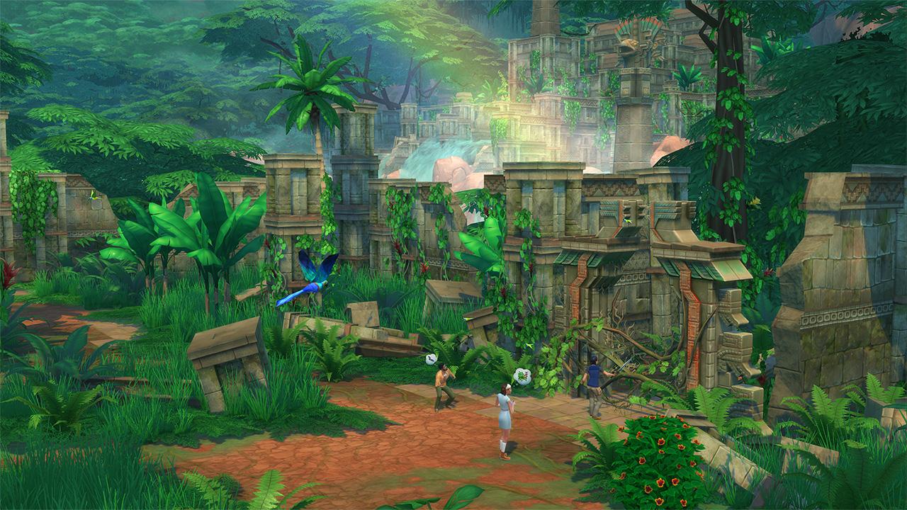 Sims 4 geheime orte