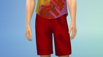 Sims 4 Fitness CAS 07