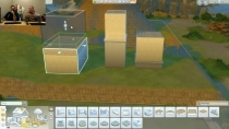 Die Sims 4 Terrain - Bau-Modus 01