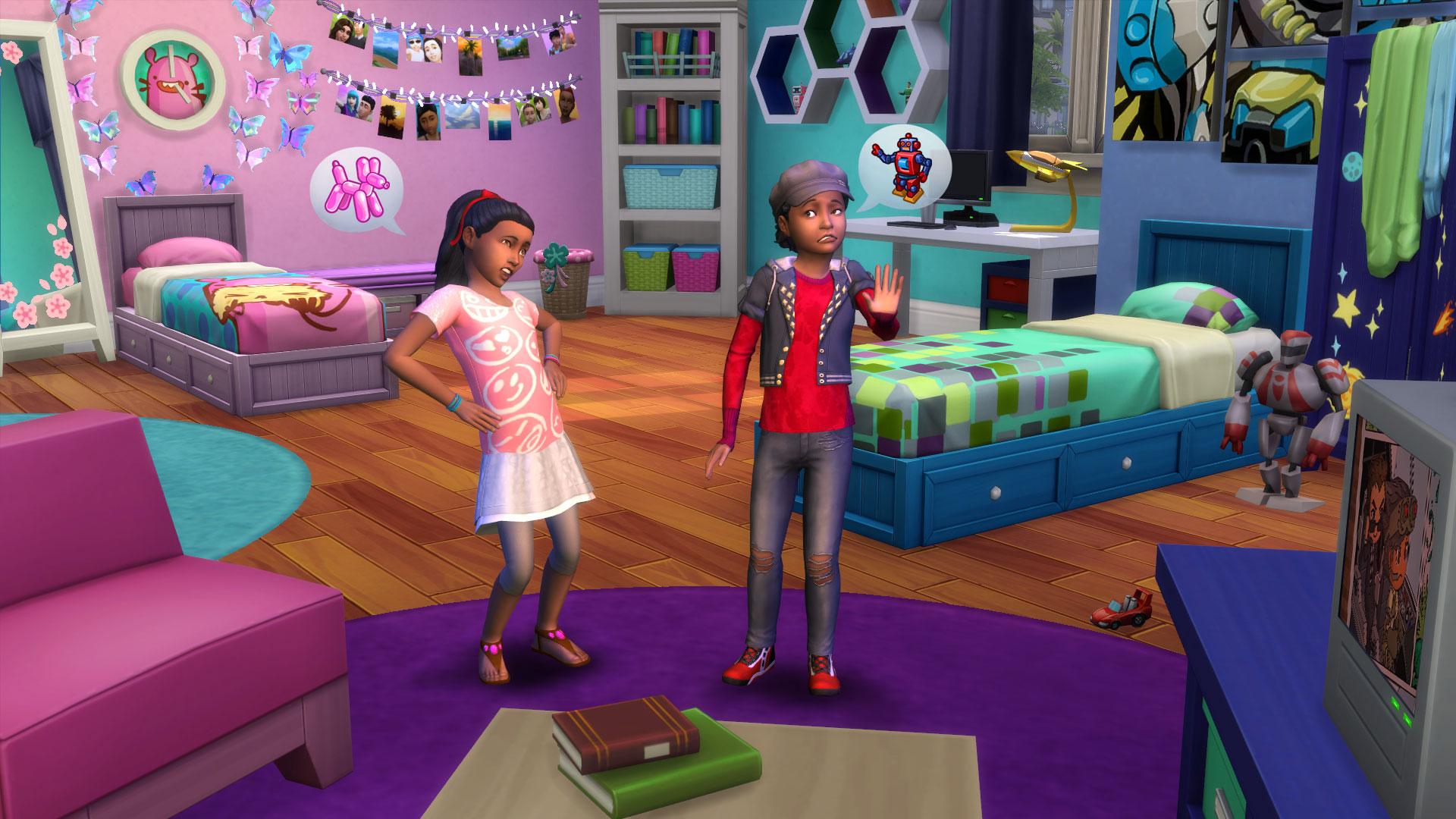 die sims 4:kinderzimmer-accessoires - neues für die lieben kleinen