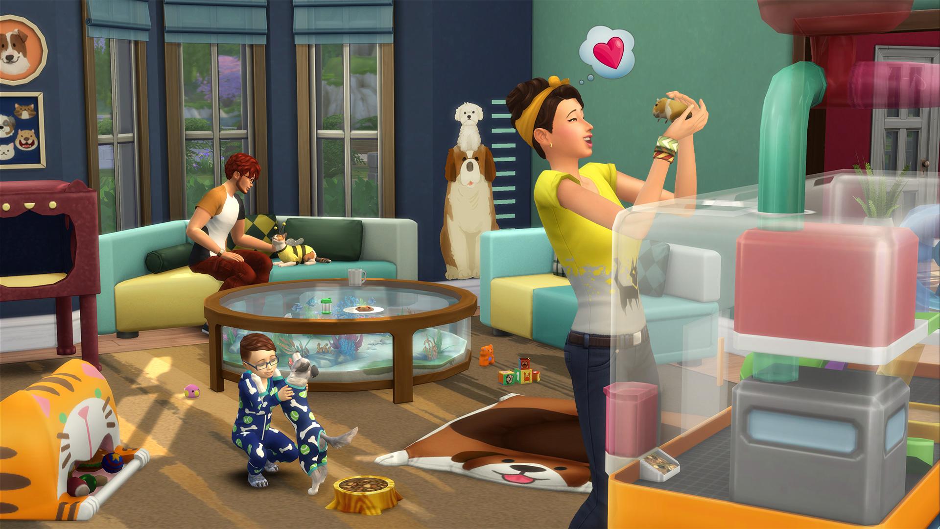 Die Sims 4 Mein Erstes Haustier Accessoires Simtimes