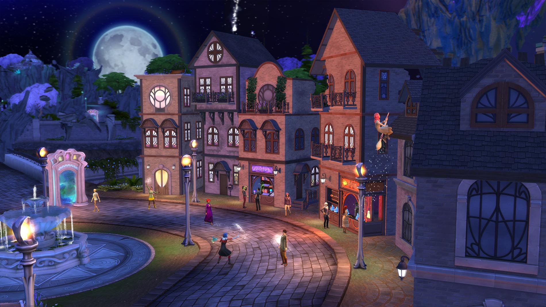 Die Sims 4 Reich Der Magie Werde Zum Zauberer Oder Zur Hexe Simtimes