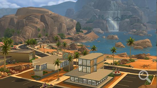 Die Sims 4: Oasis Landing