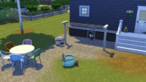 Sims 4 Waschtag-Accessoires Build Buy 06