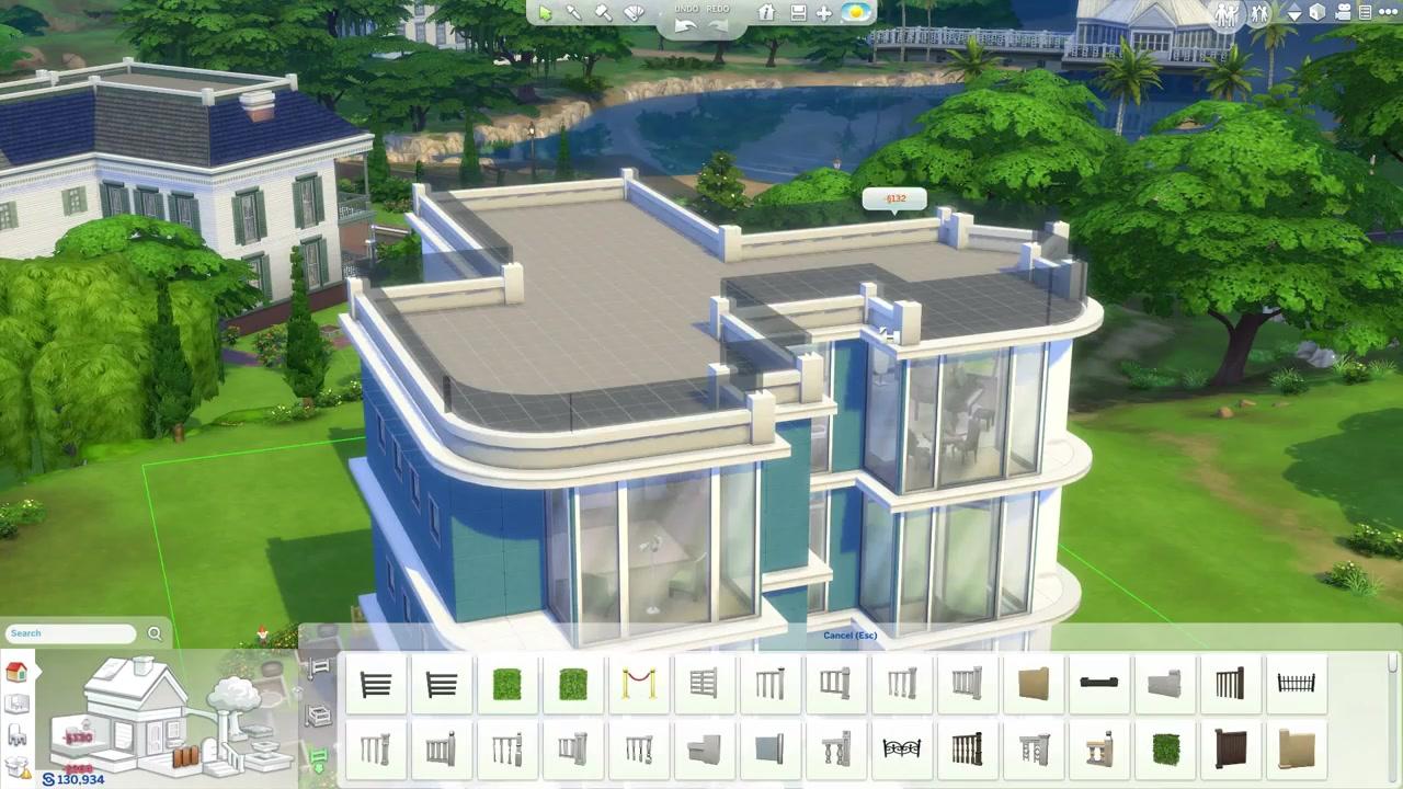 Der baumodus in die sims 4 jetzt das infovideo anschauen for Planos de casas sims