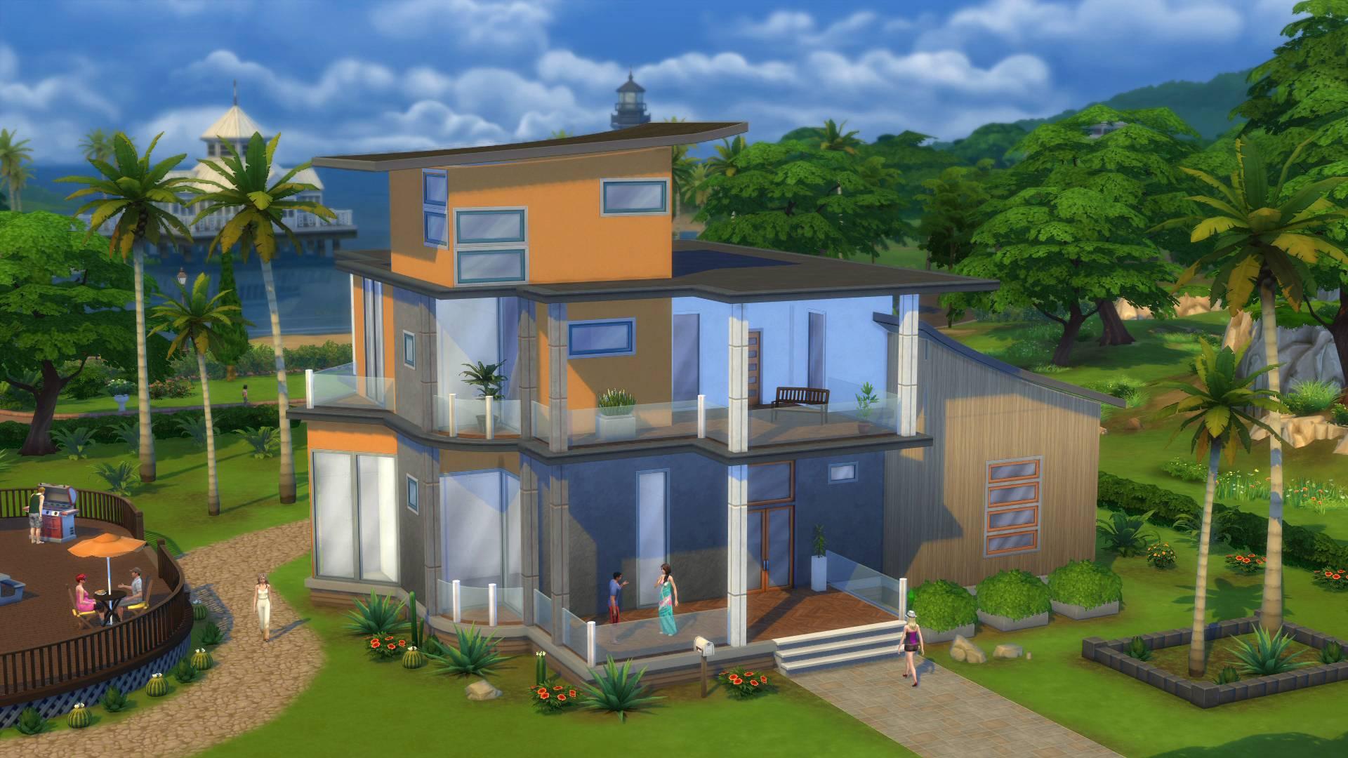 Sims 4 häuser zum nachbauen grundrisse weiterer häuser screenshot