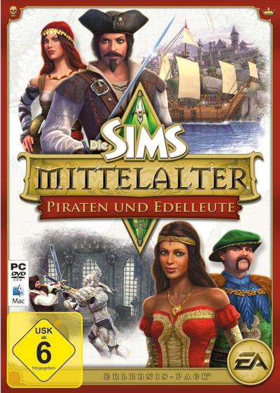 Cover: Die Sims Mittelalter Piraten und Edelleute