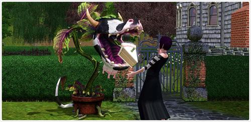 Die Kuhpflanze aus Die Sims 2 ist zurück