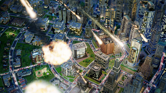 Katastrophen in SimCity