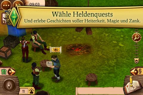 Die Sims Mittelalter für iPad
