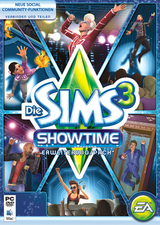 Die Sims 3 Showtime Cover