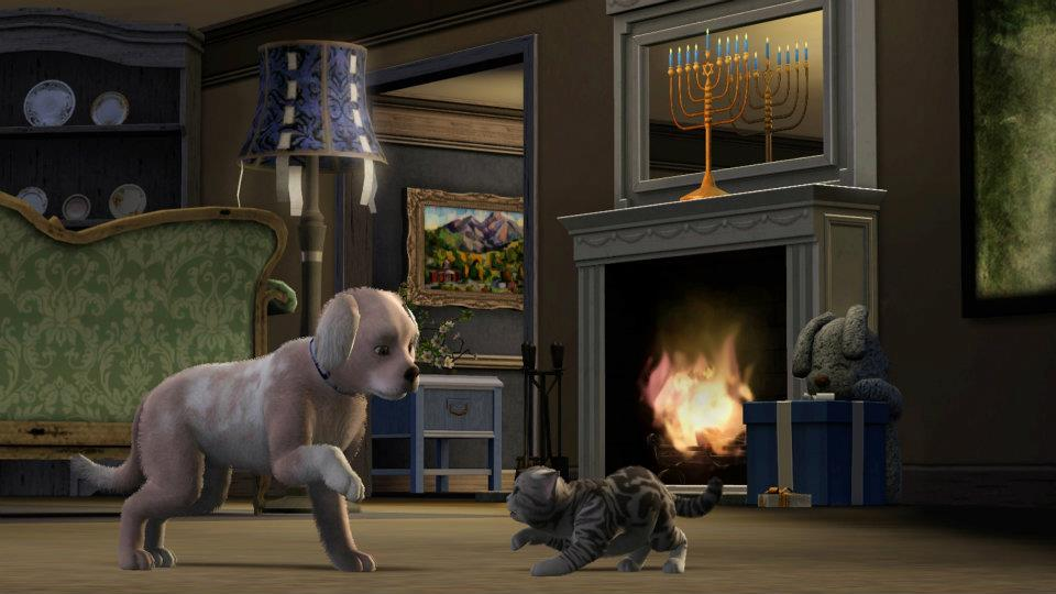 Sims  Cats And Dogs Voucher