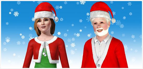 Kostenlose Weihnachtsmützen für eure Sims