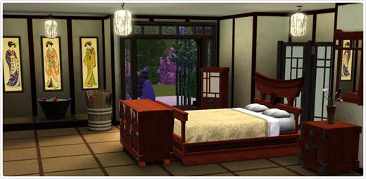 japanische schlafzimmer – progo, Schlafzimmer ideen