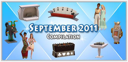 Hollywood, Halloween, Retro und Las Vegas - Der September im Die Sims 3 Store