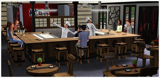 """Neues Update im Sims 3 Store: Japanisches Esszimmer """"Itadakimasu"""""""