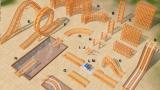 Achterbahnen in Die Sims 3