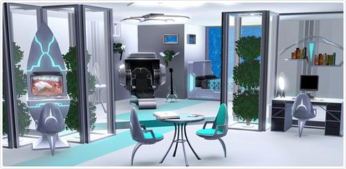 Neues Set im Sims 3 Store: Zukunftsschock-Schlafzimmer