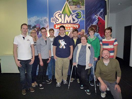 Die deutsche Sims-Community zu Gast bei EA in Köln