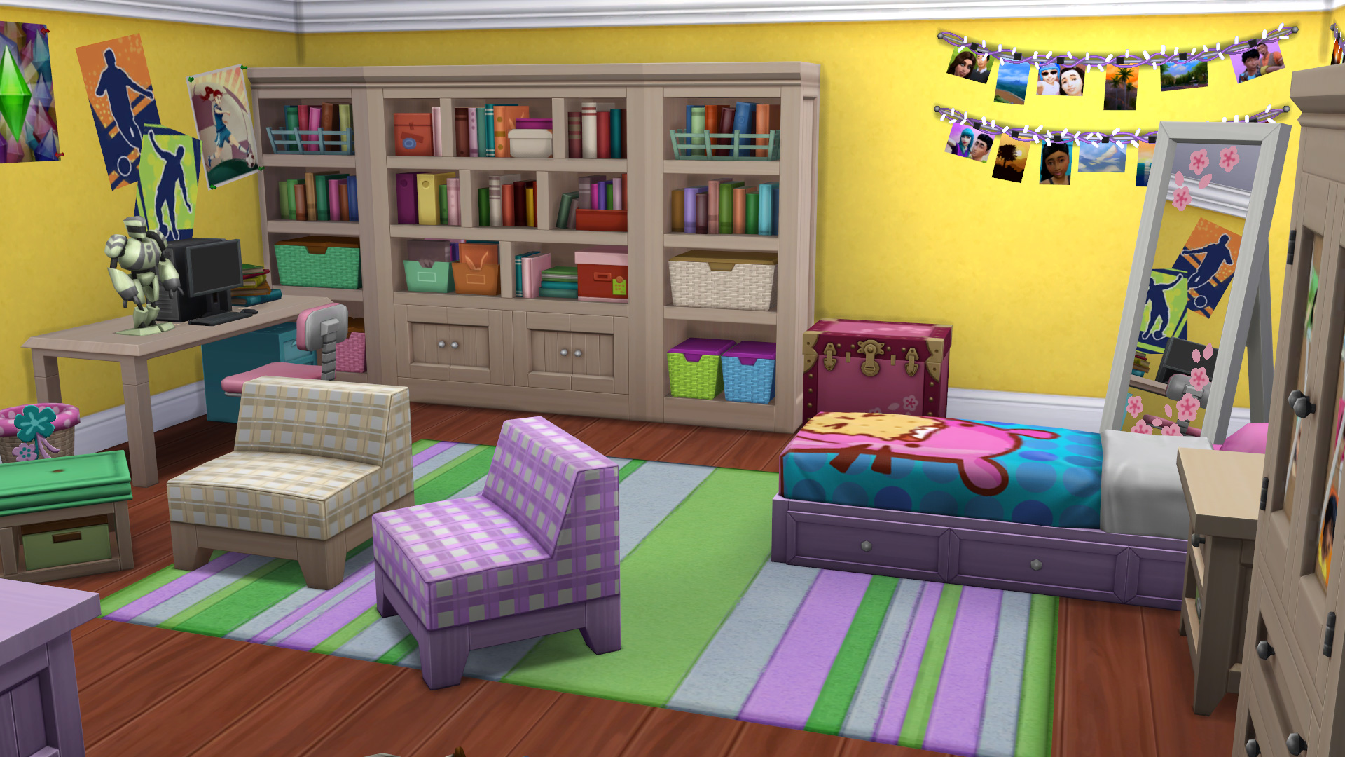 Angespielt die sims 4 kinderzimmer accessoires simtimes for Accessoires kinderzimmer